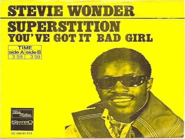 "Mixage de ""Superstition"" de Stevie Wonder"